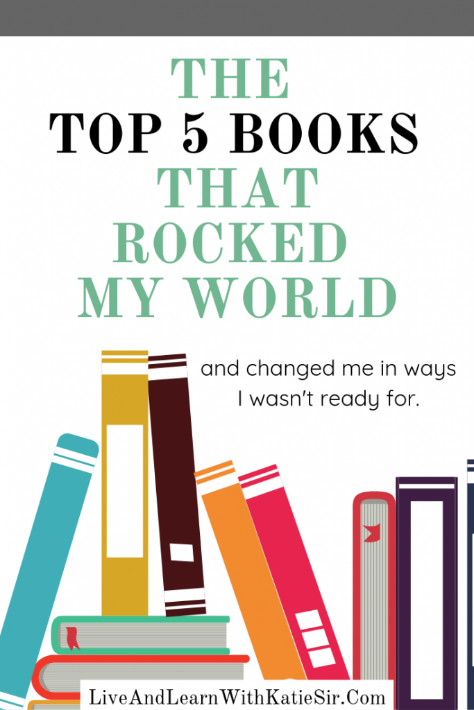 THE TOP 5 BOOKS THAT ROCKED MY WORLD (1)